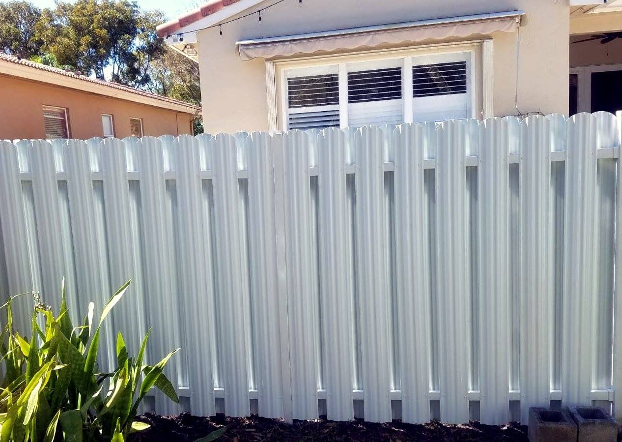 Privacy Metal Fence Installation And Repairs In South Florida
